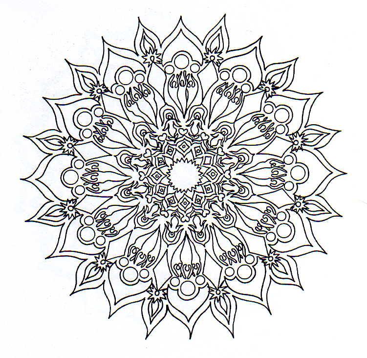 MANDALAS Imprimir Mandalas Colorear Mandalas