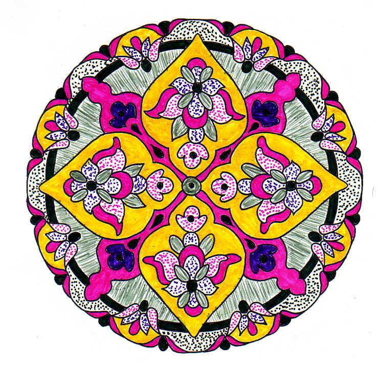 Mandalas imprimir mandalas colorear interpretacion de - Colores para mandalas ...