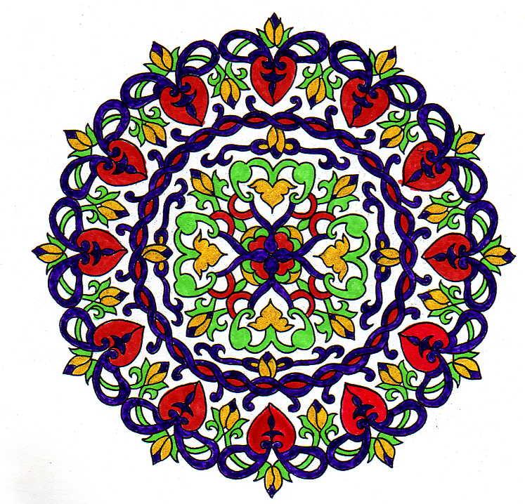 Atelier de feng shui mandalas para colorir mandalas to for Cuadros mandalas feng shui decoracion mandalas
